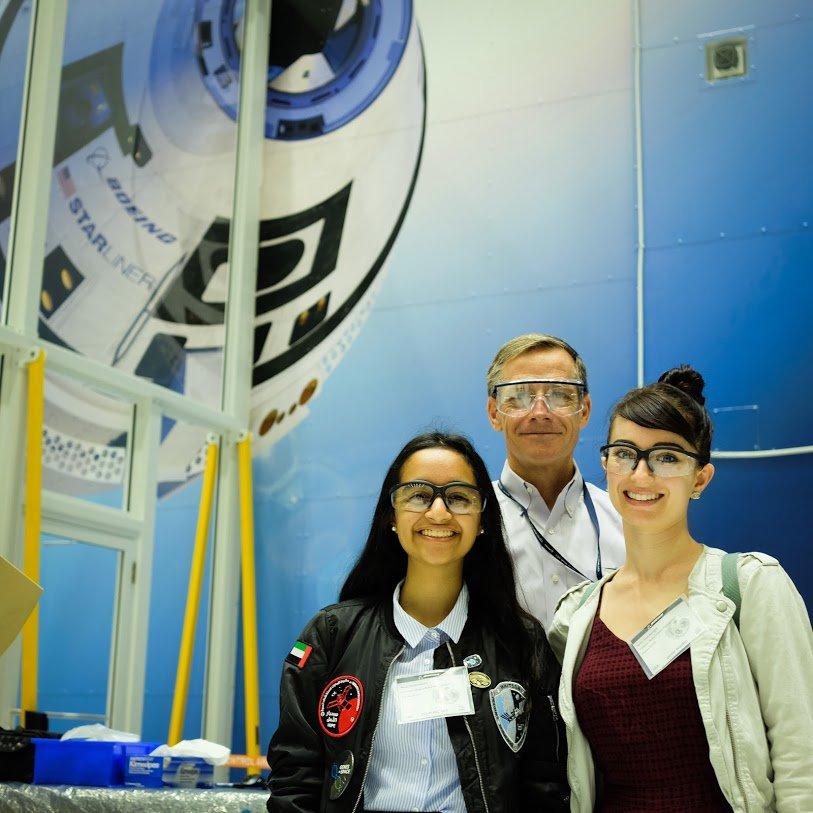 Photo Gallery: Genes in Space UAE winner Alia Al Mansoori's